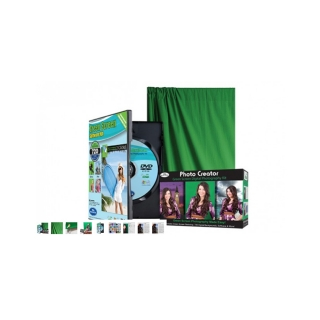 Klíčovací software Green Screen Photo Creator Kit